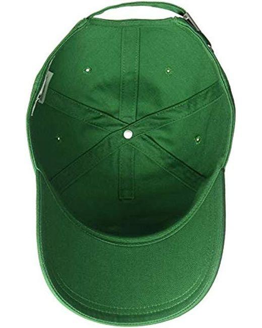 c95555df ... Lacoste - Green S Small Croc Strapback Cap for Men - Lyst