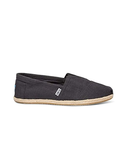 TOMS Black Seasonal Classics Slip On Shoes