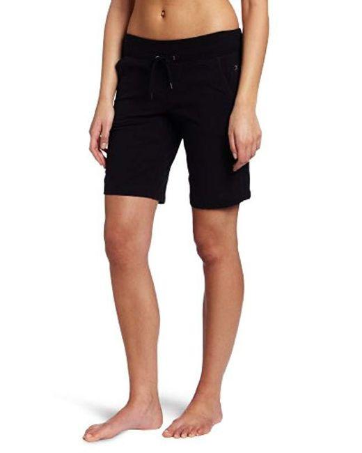 Danskin Black Essential Bermuda Short