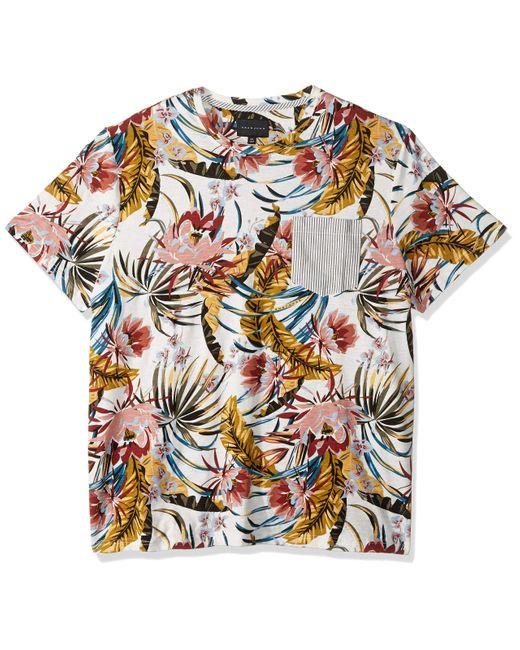 Sean John Mens Long Sleeve All Over Graffiti Button Down Shirt