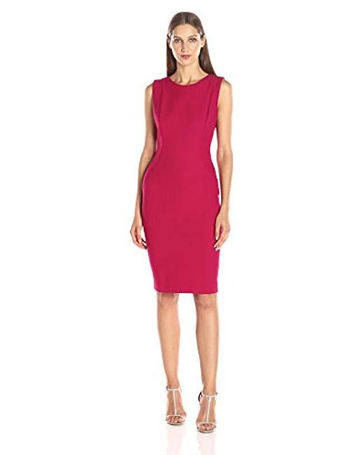 Elie Tahari - Red Cailyn Dress - Lyst