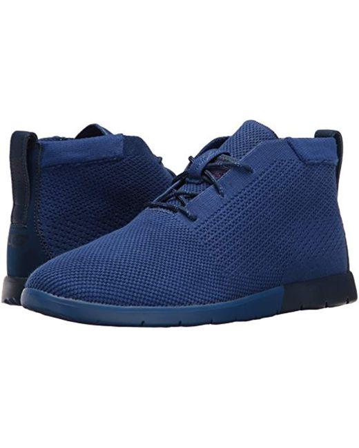 6b3c2982c06 Men's Blue Freamon Hyperweave Chukka Boot