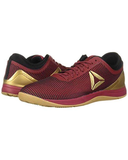 Men's Red Crossfit Nano 8.0 Flexweave Sneaker