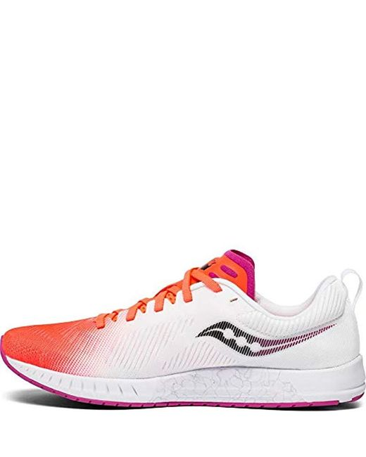 Saucony Fastwitch 9 Road Running Shoe in Red Lyst