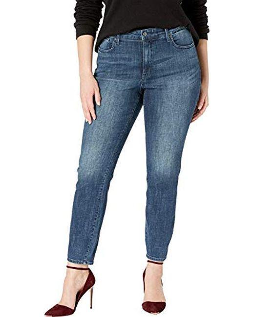 1bd68453f0c NYDJ - Blue Plus Size Ami Skinny Legging Jean - Lyst ...
