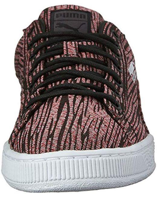 685b45a687d5b2 ... PUMA - Black Basket Classic Tiger Mesh Fashion Sneaker for Men - Lyst  ...