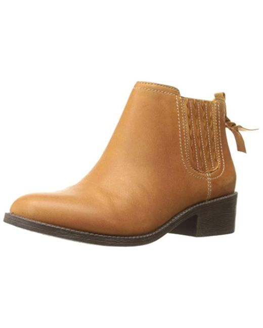 Sperry Top-Sider - Natural Top-sider Juniper Bree Ankle Bootie - Lyst