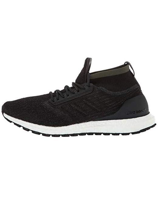 Men's Ultraboost All Terrain Running Shoe, Carbonblackwhite, 12.5 M Us