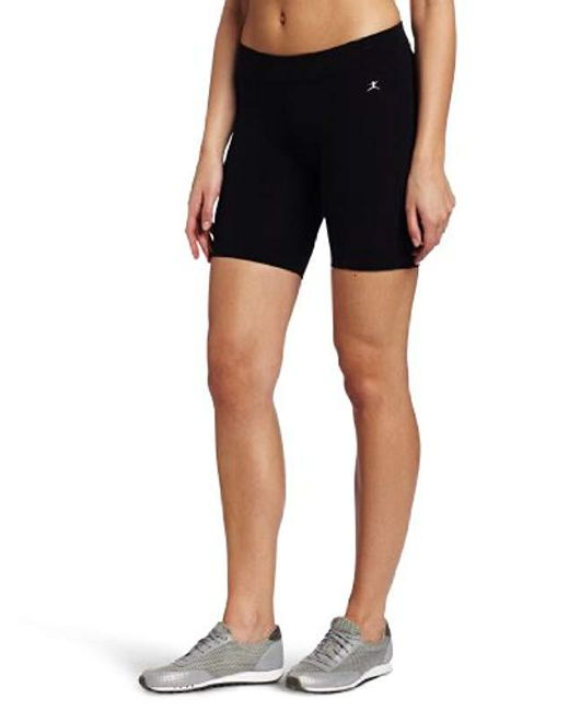 Danskin Black Essentials Seven Inch Bike Short