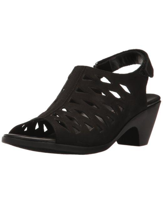 Mephisto Black Candice Dress Sandal
