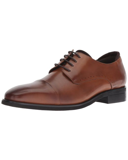 Kenneth Cole Reaction Brown Travis Lace Up Oxford for men