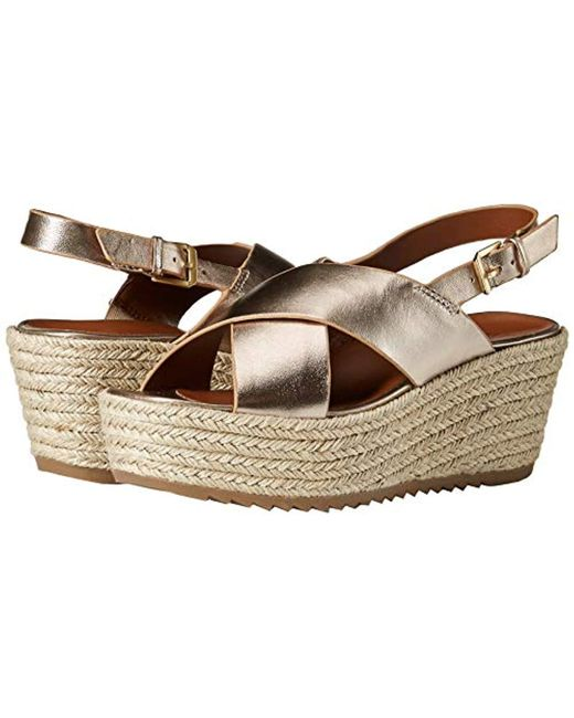 36fd74f2506 Women's Brown Oak Espadrille Wedge Sandal