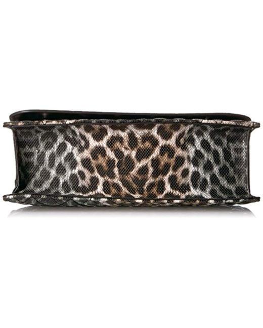 ac25ddbd9110 ... Guess - Multicolor Sibyl Leopard Convertible Crossbody Flap - Lyst ...