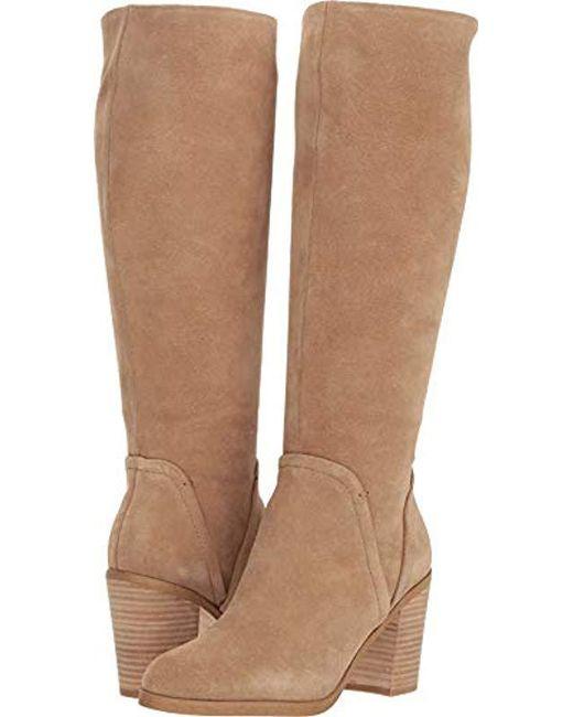 b4aac8acc0d Splendid - Natural Chester Knee High Boot - Lyst ...
