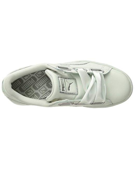 14f58fc6002 ... PUMA - Blue Basket Heart Oceanaire Wn Sneaker - Lyst