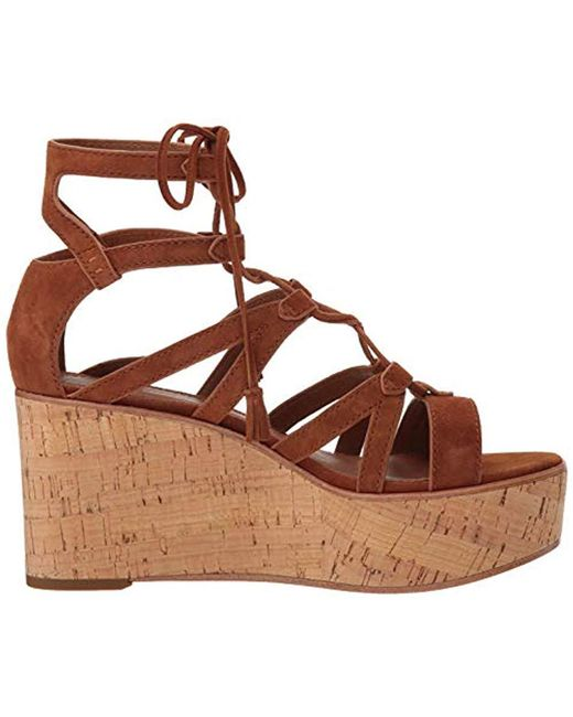 c1317e9363e Women's Metallic Heather Gladiator Wedge Sandal
