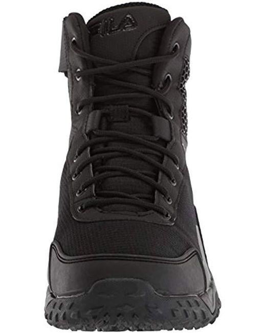 35ebed62da Men's Black Chastizer Slip Resistant Work Shoe