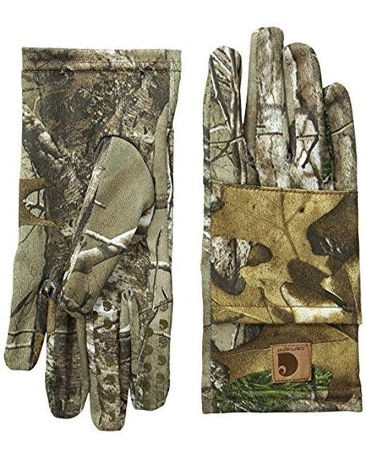 Carhartt - Green Pocket Liner Glove for Men - Lyst