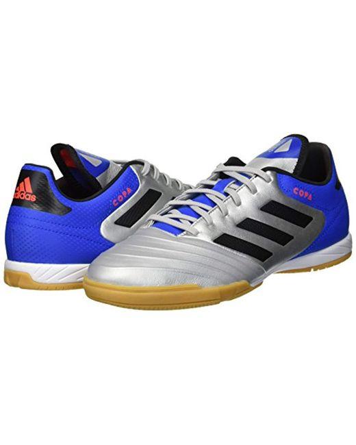 77570f3c4922 ... Adidas - Metallic Copa Tango 18.3 Indoor Soccer Shoe for Men - Lyst ...