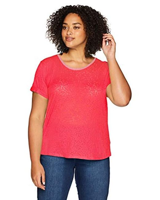 Columbia - Red Plus Size Sandy River Tee - Lyst