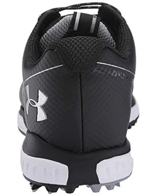 5695f560b ... Under Armour - Black Fade Rst 2 E Golf Shoes for Men - Lyst ...