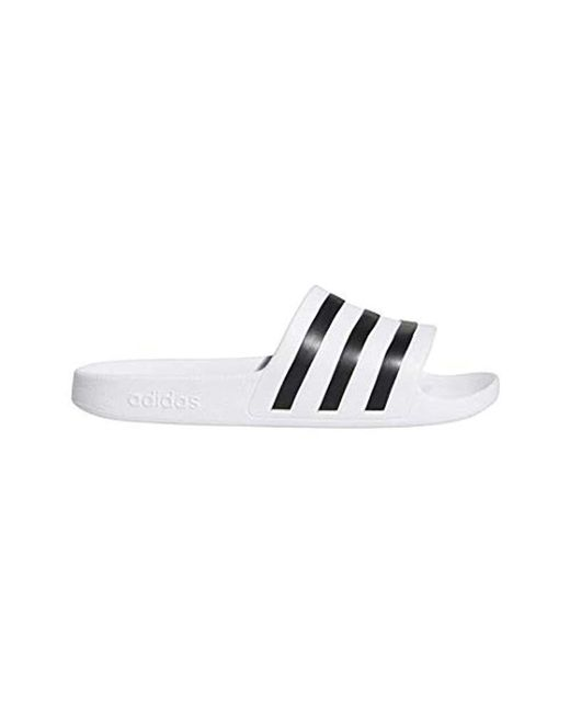 cea05d026 Women's White Adilette Aqua Slide Sandal