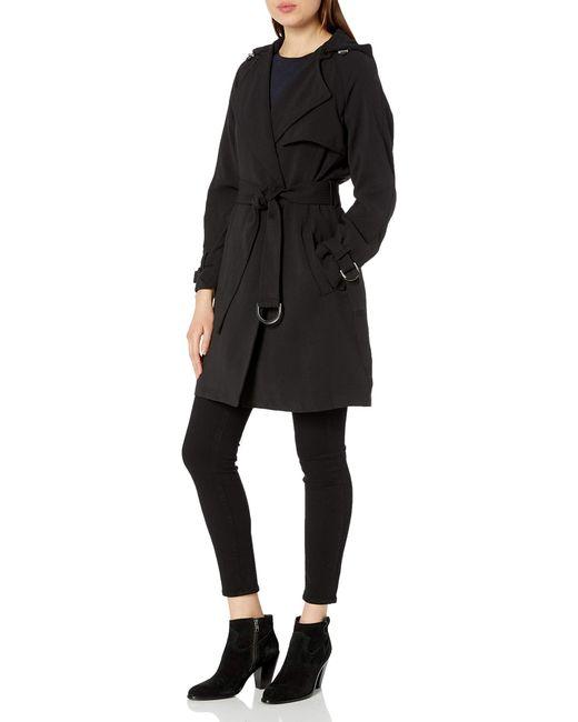 Rachel Roy Black Trench Coat