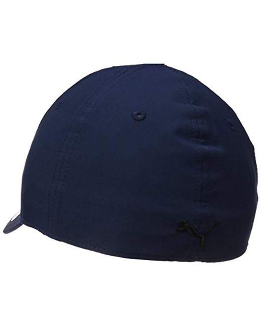 97c18ddef9b Lyst - PUMA Evercat Alloy Stretch Fit Cap in Blue for Men - Save 30.0%