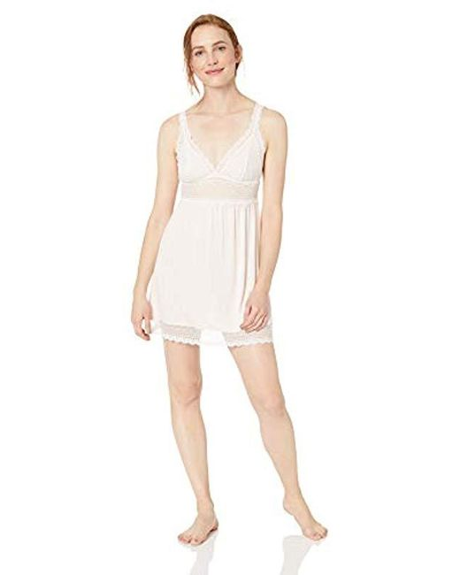 a545f592f743eb Eberjey - Multicolor Lucie Highline Chemise - Lyst ...