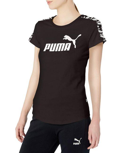 PUMA Black Amplified T-shirt