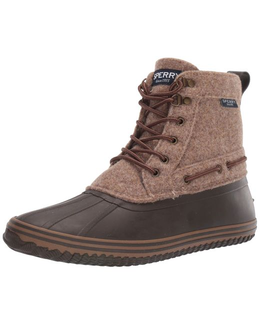 Sperry Top-Sider Brown Sperry S Huntington Duck Boot Boots for men