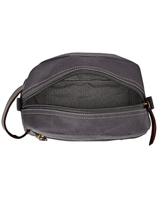 ec98cae074 ... Timberland - Gray Travel Kit Toiletry Bag Organizer for Men - Lyst ...