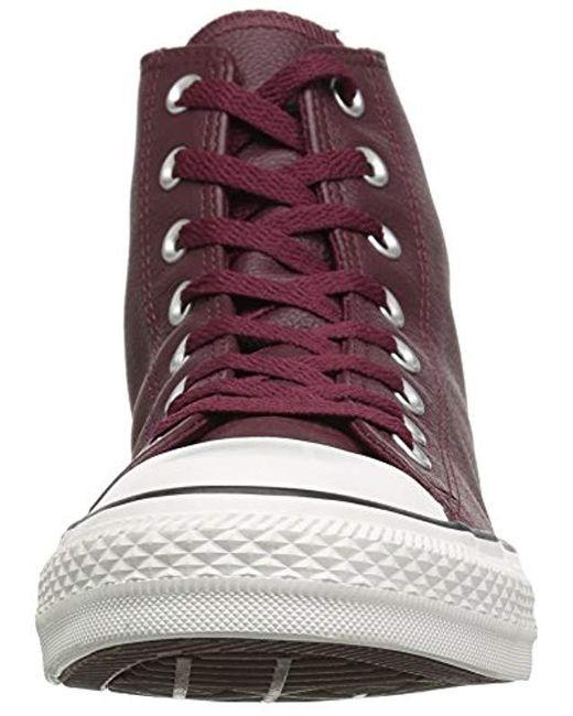 Converse Chuck Taylor All Star Tumbled Leather Hi Top Adult