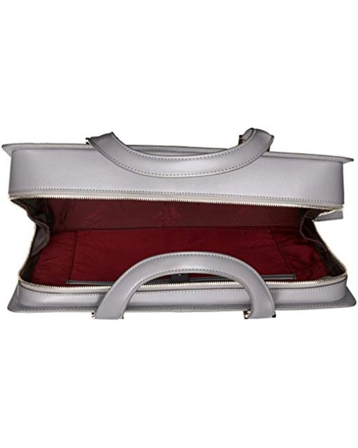 d75d75ce6b8b Men's Neoclassico Full Zip Briefcase, Gray, One Size