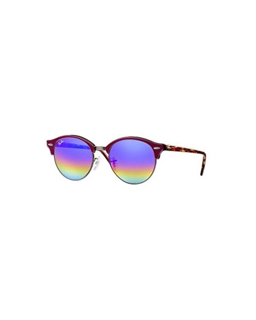 Ray-Ban - Blue Rb4246f Clubround Sunglasses for Men - Lyst