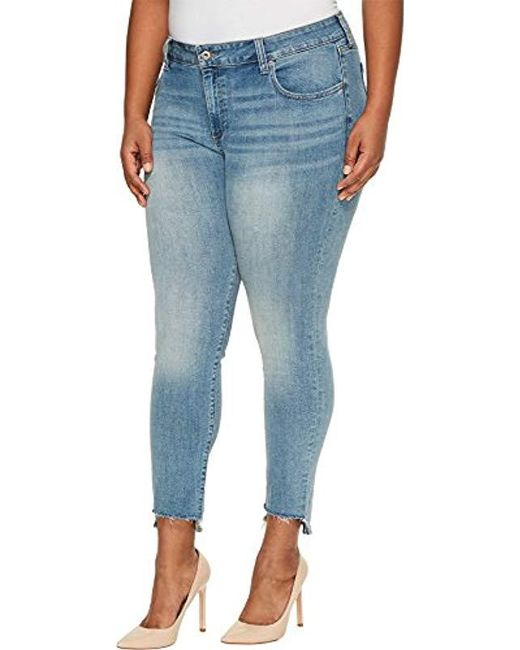 26d0bac5b3cc2 ... Lucky Brand - Blue Plus Size Mid Rise Ginger Skinny Jean In Divinty -  Lyst ...