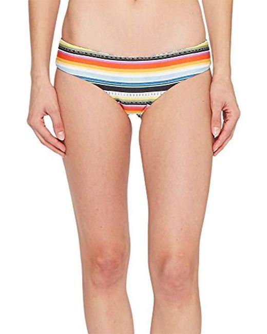 ec76c3be3e Rip Curl - Blue Beach Bazaar Revo Hipster Bikini Bottom - Lyst ...