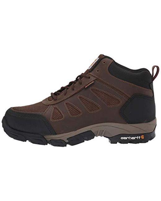 3fe84950fd0 Men's Brown Lightweight Waterproof Work Hiker Carbon Nano Toe