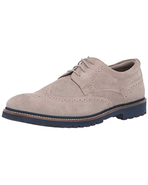 Rockport Multicolor Marshall Wingtip Shoes for men