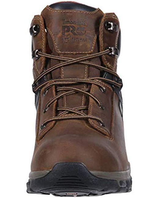 4f119599bd4 Men's Brown Hypercharge 6 Soft Toe Wp