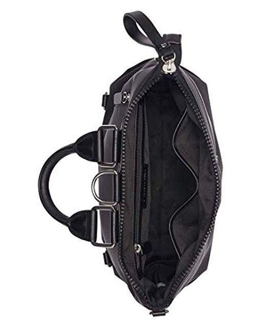 890b0b377ef4 ... Calvin Klein - Black Lane Nylon Boxy Top Zip Backpack - Lyst ...
