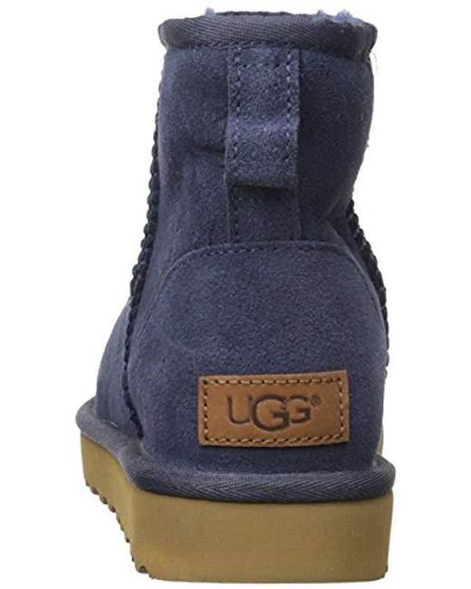 a080371968f Women's Blue Classic Mini Ii Winter Boot