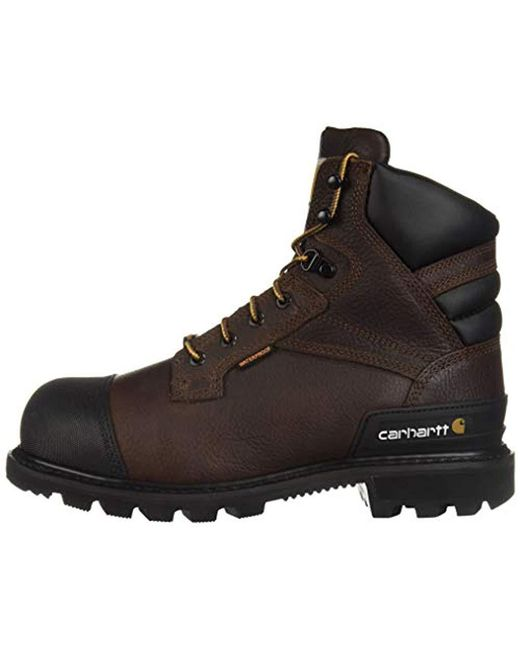 bc13269fba6 Men's Brown Csa 6-inch Wtrprf Insulated Work Boot Steel Safety Toe Cmr6859  Industrial