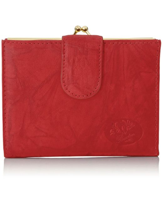Buxton Red Heiress Double Cardex�