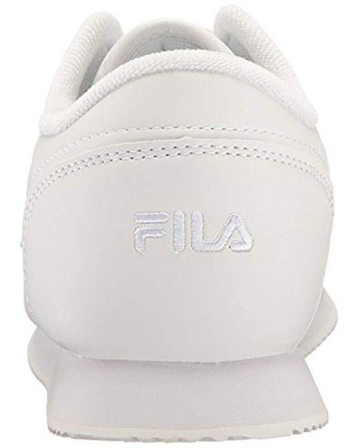 3919645070fc ... Fila - White Machu Walking Shoe - Lyst ...