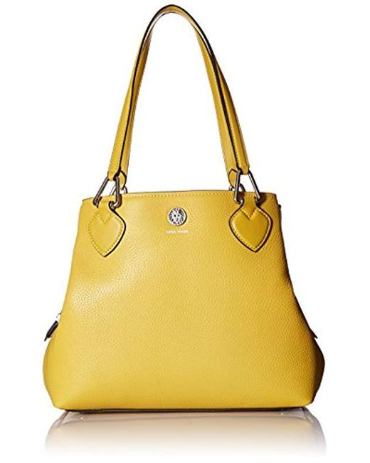 Anne Klein Yellow A Hinge Small 4 Poster Lyst