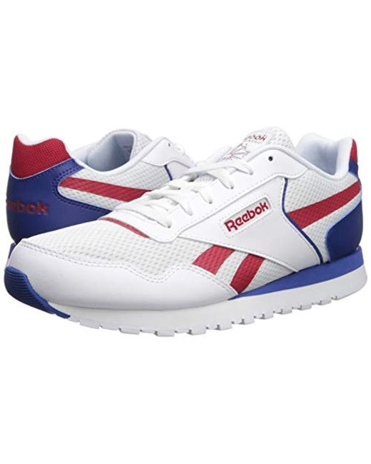 Harman Classic Reebok In Rubber Run Sneaker White For Men kZOiuwXPT