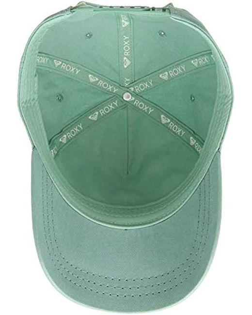 69d6bf4d7bc ... Roxy - Green Next Level Baseball Cap (medieval Blue) Baseball Caps -  Lyst