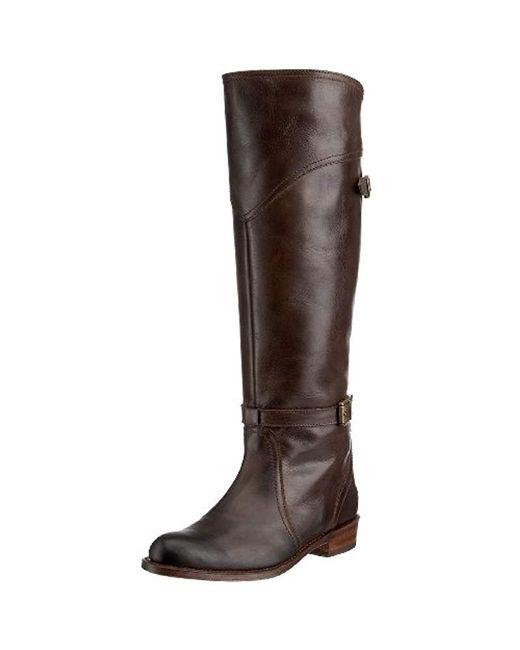 Frye Brown Dorado Riding Boot