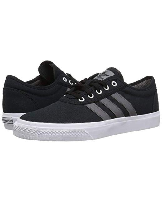 Men's Adi ease Skate Shoe, Blackgreywhite, 5.5 M Us